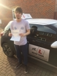 Jonathan Price passed with Mr L Driving School