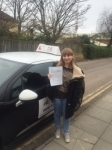 Lillie Neill passed with Mr L Driving School