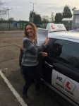 Janine Robinson  passed with Mr L Driving School