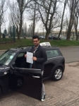 Nabeel  passed with DUO Driving School