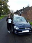 Kat (Welwyn Garden City) passed with Hadley School Of Motoring