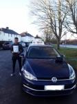 Dom (Colney Heath) passed with Hadley School Of Motoring