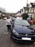 Abigail (Barnet) passed with Hadley School Of Motoring