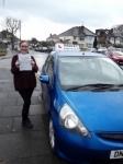 Susie (East Barnet) passed with Hadley School Of Motoring