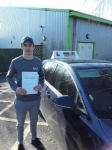 Jake (Colney Heath) passed with Hadley School Of Motoring