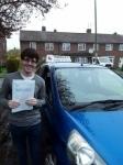 Sam (Borehamwood) passed with Hadley School Of Motoring