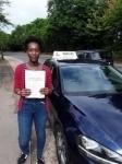 Karla (Radlett) passed with Hadley School Of Motoring