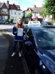Alix (Finchley) passed with Hadley School Of Motoring