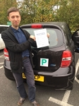 Alex (Finchley) passed with Hadley School Of Motoring