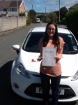 Abbey Bailey passed with Peter Hamilton Driving School