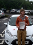 Adam Bennett passed with Peter Hamilton Driving School