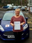 Alison Williams passed with Peter Hamilton Driving School