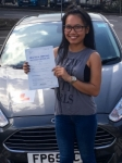 Amy Jaisawang passed with Peter Hamilton Driving School