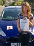 Angharad Williams passed with Peter Hamilton Driving School