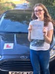 Anna Richards, Bridgend passed with Peter Hamilton Driving School