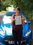 Annette Parker passed with Peter Hamilton Driving School