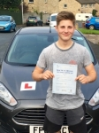 Ashley Nelson passed with Peter Hamilton Driving School