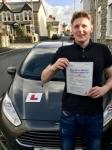 Ben Lewis from Bridgend passed with Peter Hamilton Driving School
