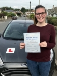 Beth Clark passed with Peter Hamilton Driving School
