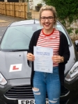 Catherine Adamec passed with Peter Hamilton Driving School