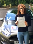 Catherine Booth passed with Peter Hamilton Driving School