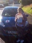 Chantelle Pulvirenti passed with Peter Hamilton Driving School