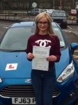 Charlotte Owen passed with Peter Hamilton Driving School