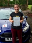 Charlotte Smith passed with Peter Hamilton Driving School