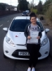 Chloe Jones passed with Peter Hamilton Driving School