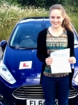 Chloe Morris passed with Peter Hamilton Driving School