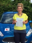 Daniella Cavill passed with Peter Hamilton Driving School