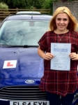 Eleanor Witcombe passed with Peter Hamilton Driving School