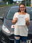 Elen Azzopardi passed with Peter Hamilton Driving School