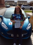 Eleri Thomas passed with Peter Hamilton Driving School