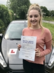 Elin Swallow From Cowbridge passed with Peter Hamilton Driving School