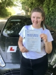 Ellis Stanton From Porthcawl passed with Peter Hamilton Driving School