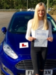 Emily Rashley passed with Peter Hamilton Driving School