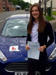 Georgia Ralph passed with Peter Hamilton Driving School