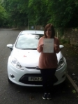 Hannah Rowe passed with Peter Hamilton Driving School