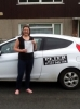 Hayley Rees passed with Peter Hamilton Driving School