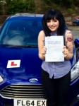 Heather Johnston passed with Peter Hamilton Driving School