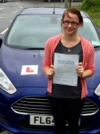Helen Harding passed with Peter Hamilton Driving School