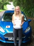 Heloise Sverdrup Lund passed with Peter Hamilton Driving School