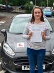 Holly Campbell passed with Peter Hamilton Driving School