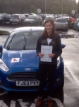 Hope Dabernig passed with Peter Hamilton Driving School