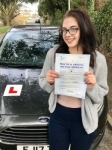 Imogen Tandy from Bridgend passed with Peter Hamilton Driving School