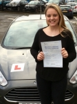 Jai Davis-Sellick passed with Peter Hamilton Driving School