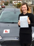 Jardin Bold passed with Peter Hamilton Driving School