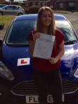 Jasmine Shirley passed with Peter Hamilton Driving School