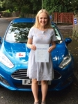 Jemimah Williams-Rumble passed with Peter Hamilton Driving School